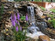 Ландшафтные пруды,  водоемы,  фонтаны.