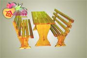 Дачный комплект мебели  «САДОВЫЙ»  деревянный