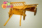 Садовый декор  «ТЕЛЕГА»  деревянная