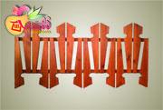 Забор «Фигурный»   деревянный