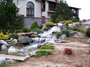 Строительство ландшафтных прудов и фонтанов.