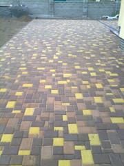 Укладка тротуарной плитки,  бетонные работы.
