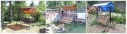 Садовые разборные качели с доставкой в Бресте